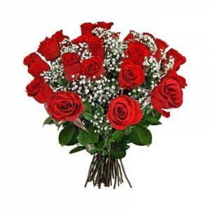 Ramos Rosas Vermelhas